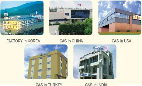 Заводы и сервисные центры CAS Corporation