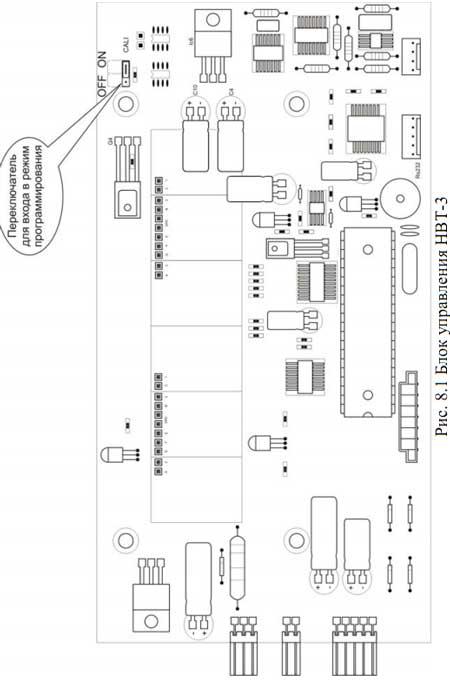 Схема блока управления НВТ-3
