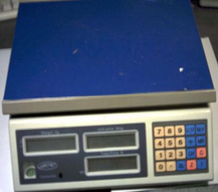 Как сделать электронные весы чтобы показывали